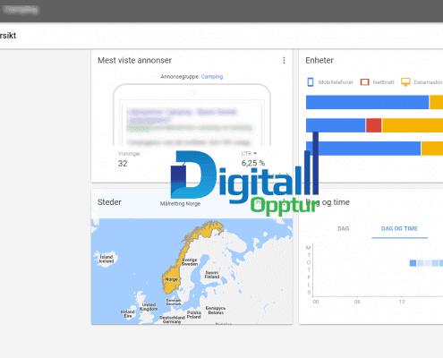 Nye Google AdWords - Alle kampanjer oversikt 1