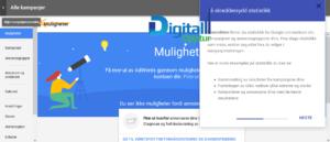 Nye Google AdWords - Muligheter Statistikk