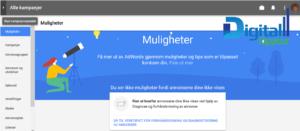 Nye Google AdWords - Muligheter oversikt