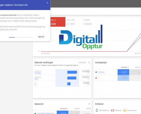 Nye Google AdWords - Naviger raskere i kontoen din 2