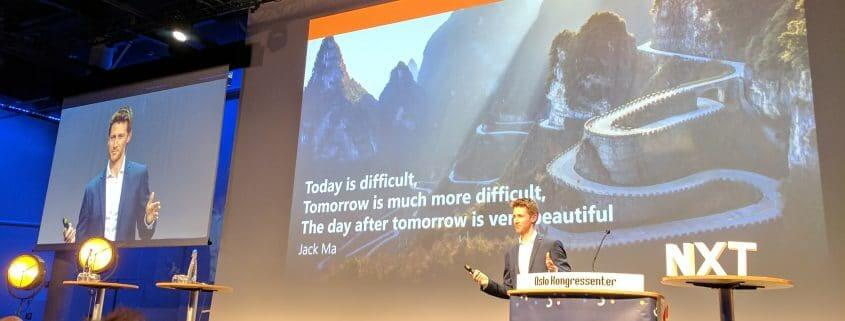 Alibaba slagord Jack Ma