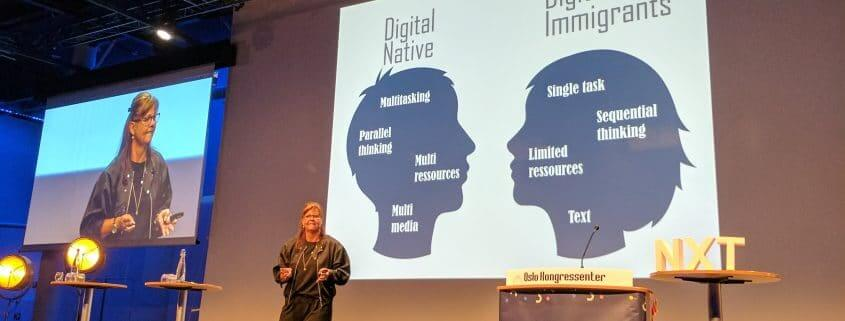 Dorte Wimmer Digital Native vs Digital Immigrants