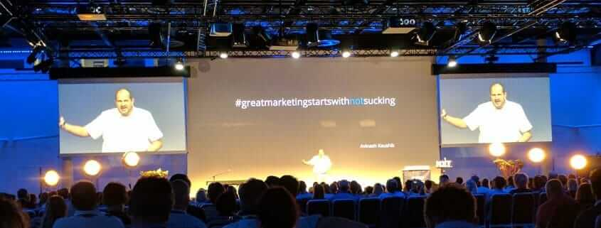 Karl Gilis NXT Nordic 2017 #Greatmarketingstartswithnotsucking