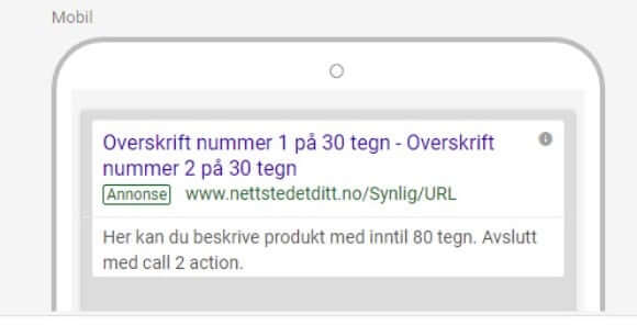 God AdWords-annonse