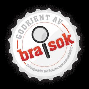 Bra søk logo