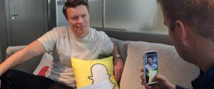 Sommerprat med Snapchats Steffen Rabben