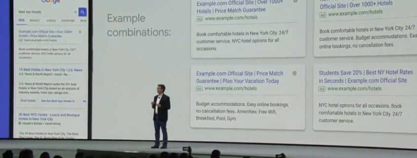 Google Responsive Search Ads keynote