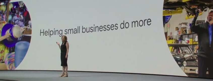 Google helping small businessses do more keynote