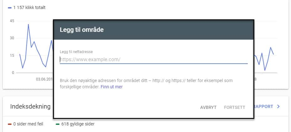 Slik bekrefter du en nettsiden i Google Search Console