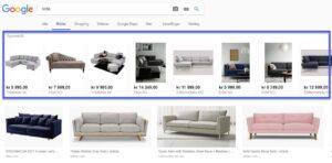 Google Shopping vises nå også i Bilde-søket toppbilde