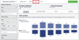 Facebook publikum innsikt oversikt