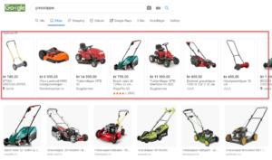 Google Bilder blir en del av søkenettverket til Shopping-annonser