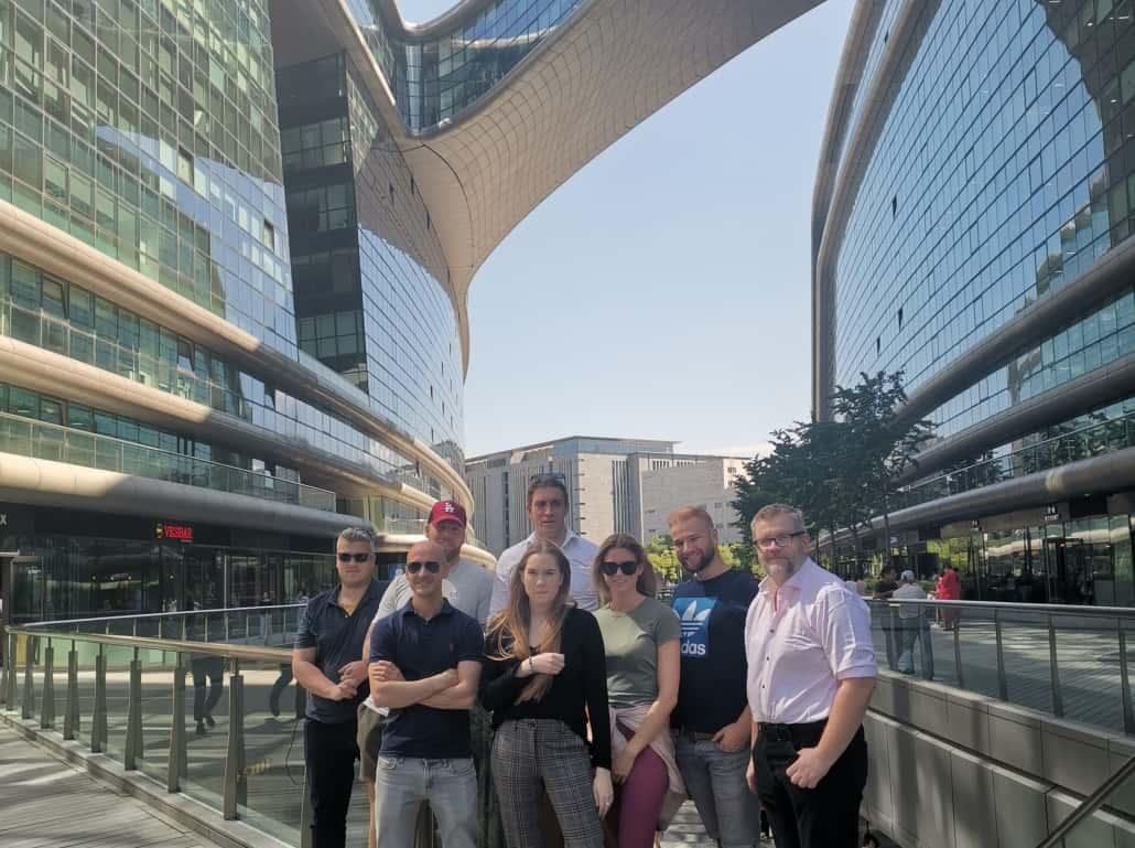 Shanghai Digital Opptur gruppebilde ctrip hq