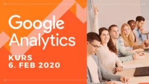 Google Analytics Grunnkurs 6 februar 2020