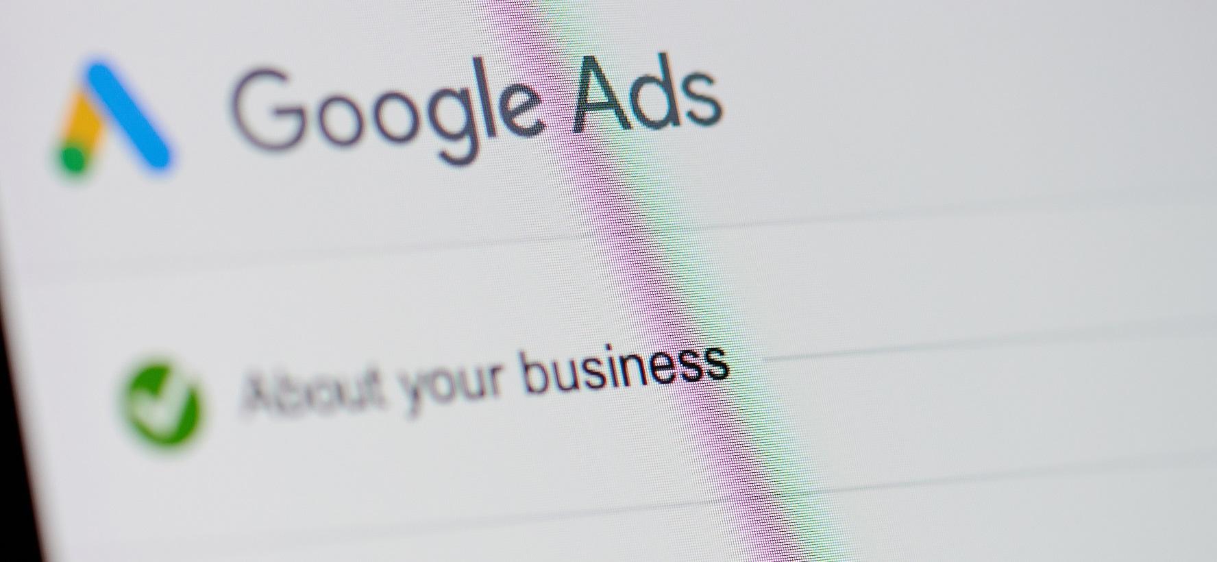 Google Ads synlighet og rådgivning