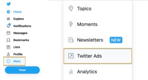Twitter-ads-opprette-konto