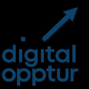 Digital Opptur kart marker
